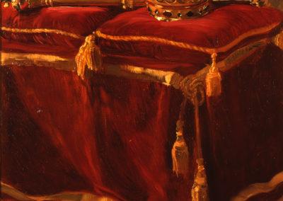 Regalia - schilderij